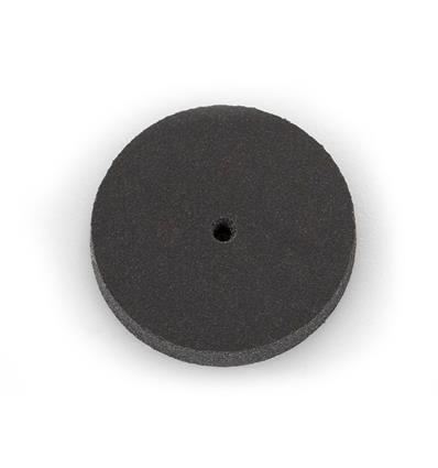 DISCO SILICONA EVE 22x3 mm. NEGRO MEDIO (EN CAJA 100 UNIDADES)
